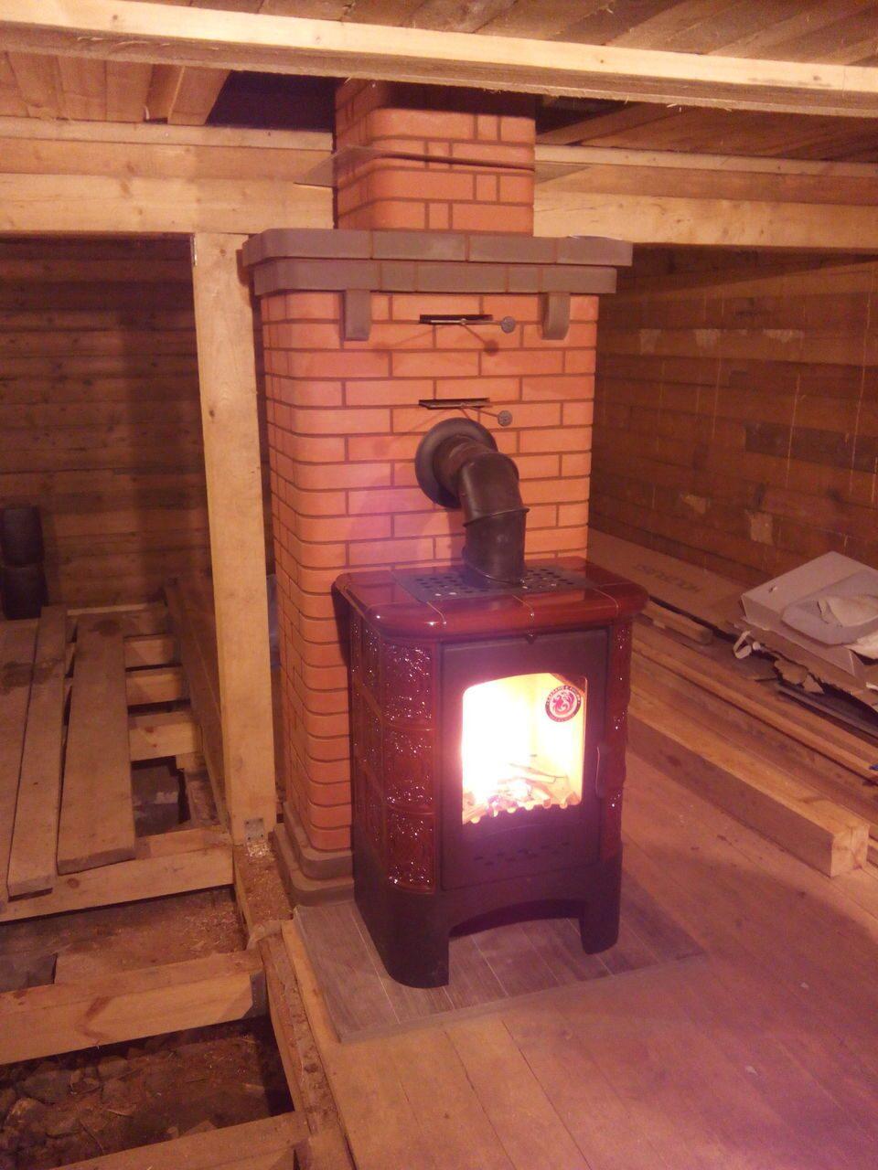 Установка печи в деревянном доме своими руками : правила монтажа каминов 13