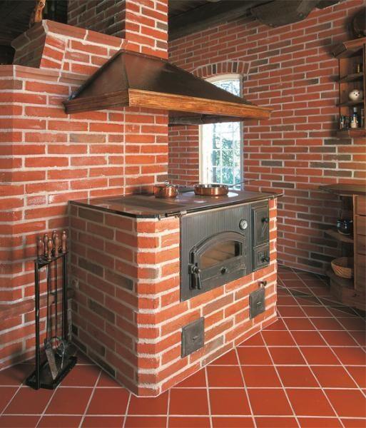 Дизайн печки в частном доме